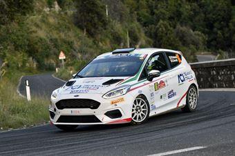 Riccardo Pederzani Edoardo Brovelli, Ford Fiesta Rc4 #86, ITALIAN RALLY CHAMPIONSHIP