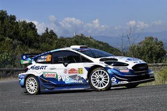 Pedro Baldaccini, M SPORT Ltd Ford Fiesta WRC Plus #103, ITALIAN RALLY CHAMPIONSHIP