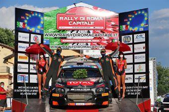 Cerimonia di Premiazione, Fiuggi, CAMPIONATO ITALIANO RALLY