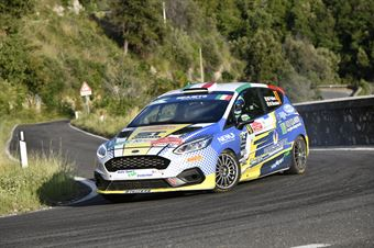Marco Pollara Maurizio Messina, Ford Fiesta RC4 #47, ITALIAN RALLY CHAMPIONSHIP