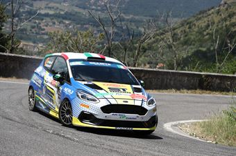 Marco Pollara Maurizio Messina, Ford Fiesta RC4 #47, CAMPIONATO ITALIANO RALLY