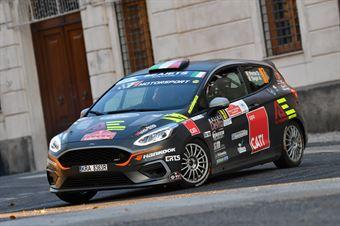 Davide Porta Andrea Segir, Ford Fiesta R1 #97, ITALIAN RALLY CHAMPIONSHIP