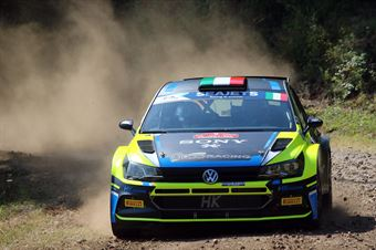 Alessandro Re Paolo Zanini, Volkswagen Polo R5 #26, Gass Racing, CAMPIONATO ITALIANO RALLY