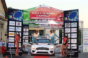 Emanuele Rosso Andrea Ferrari; Ford Fiesta RC4 #87, CAMPIONATO ITALIANO RALLY