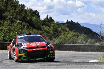 Antonio Rusce Sauro Farnocchia, Citroen C3 R5 #30, X Race Sport, CAMPIONATO ITALIANO RALLY