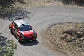 Antonio Rusce Sauro Farnocchia, Citron C3 R5 #30, X Race Sport, CAMPIONATO ITALIANO RALLY