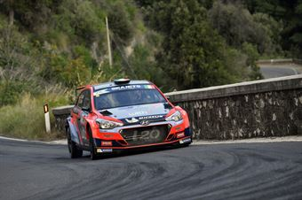 Umberto Scandola Guido DAmore, Hyundai i20R5 #70, ITALIAN RALLY CHAMPIONSHIP