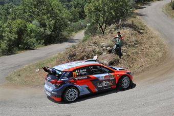 Umberto Scandola Guido D Amore, Hyundai i20 R5 #70,, ITALIAN RALLY CHAMPIONSHIP