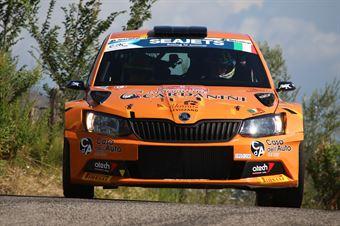 Giacomo Scattolon Matteo Nobili, Skoda Fabia R5 #24, CAMPIONATO ITALIANO RALLY