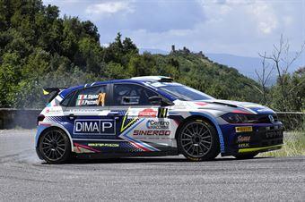 Marco Signor Francesco Pezzoli, Volkswagen Polo R5 #74, ITALIAN RALLY CHAMPIONSHIP