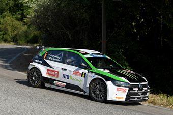 Oliver Solberg Aaron Johnston, Volkswagen Polo R5 #5, CAMPIONATO ITALIANO RALLY