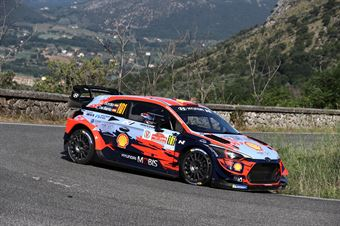 Daniel Sordo Carlos Del Barrio, Hyundai i 20 Coupe WRC #101, Hyundai Motorsport N, CAMPIONATO ITALIANO RALLY