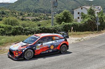 Daniel Sordo Carlos Del Barrio, Hyundai i20 Coupe WRC #101, CAMPIONATO ITALIANO RALLY