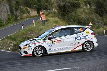 Mattia Vita Massimiliano Bosi, Ford Fiesta RC4 #84, CAMPIONATO ITALIANO RALLY