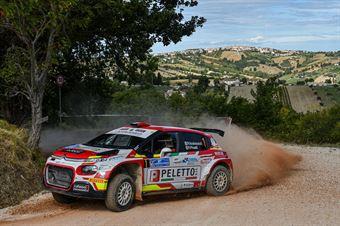 Paolo Andreucci Francesco Pinelli, Citroen C3 R5 #1, Peletto Racing Team, CAMPIONATO ITALIANO RALLY TERRA