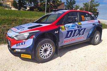 Battilani Fabio, Manfredi Jasmine, Hyundai i20 New Generation #29, CAMPIONATO ITALIANO RALLY TERRA