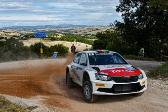 Marquito Bulacia Marcello Der Ohannesian, Skoda Fabia R5 #6, Meteco Corse, CAMPIONATO ITALIANO RALLY TERRA