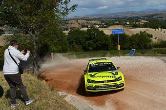 Simone Campedelli Sauro Farnocchia, Volkswagen Polo R5 #2, Project Team, CAMPIONATO ITALIANO RALLY TERRA