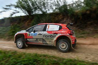 Nicolas Ciamin Yannick Roche, Citroen C3 R5 #8, CAMPIONATO ITALIANO RALLY TERRA
