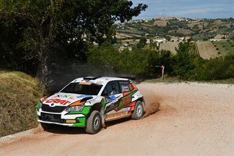 Dettori Giuseppe Pisano Carlo, Skoda Fabia R5 #16, ASD Team Autoservice, CAMPIONATO ITALIANO RALLY TERRA