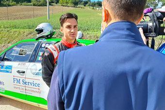 Marchioro Intervista, CAMPIONATO ITALIANO RALLY TERRA
