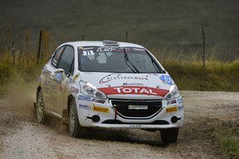 Trevisani Jacopo Marchesini Andrea, Peugeot 208 R2 #71, HP Sport, CAMPIONATO ITALIANO RALLY TERRA