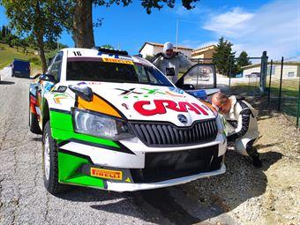 Dettori Giuseppe, Pisano Carlo, Skoda Fabia R5, #16, Autoservice Sport, CAMPIONATO ITALIANO RALLY TERRA