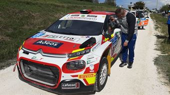 Andreucci Paolo, Pinelli Francesco, Citroen C3 R5 #1,Peletto Racing Team, CAMPIONATO ITALIANO RALLY TERRA