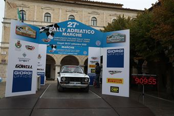 Temeroli Simone,Mainardi Gianluca(Ford Escort,San Marino,#206), CAMPIONATO ITALIANO RALLY TERRA STORICO
