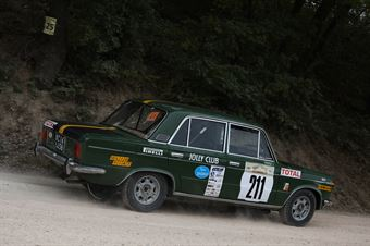 Turchi Pietro, Donati Francesco(Fiat 125,team Bassano, #211), CAMPIONATO ITALIANO RALLY TERRA STORICO
