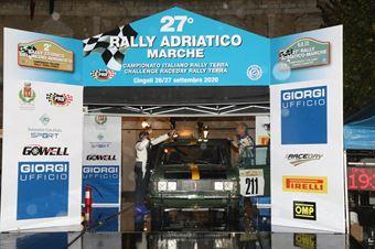 Turchi Pietro,Donati Francesco(Fiat 125,Team Bassano,#211), CAMPIONATO ITALIANO RALLY TERRA STORICO