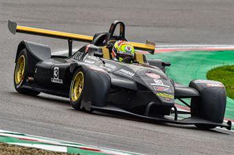 Fattorini Michele, Wolf GB08 Thunder #3, Ascari Driver Academy, CAMPIONATO ITALIANO SPORT PROTOTIPI