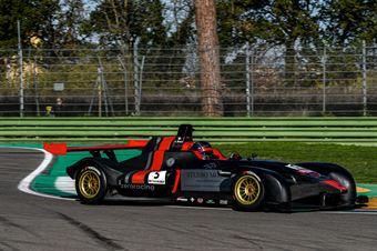 Mosca Andrea, Wolf GB08 Thunder #5, Zero Racing, CAMPIONATO ITALIANO SPORT PROTOTIPI