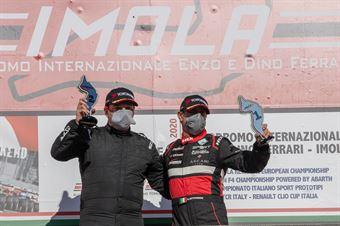 Podio MASTER Race2, CAMPIONATO ITALIANO SPORT PROTOTIPI