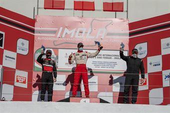 Podio ROOKIE Race2, CAMPIONATO ITALIANO SPORT PROTOTIPI