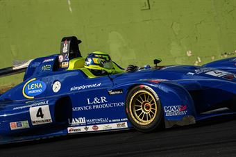 Attianese Stefano, Wolf GB08 Thunder #4, Ascari Driver Academy, CAMPIONATO ITALIANO SPORT PROTOTIPI