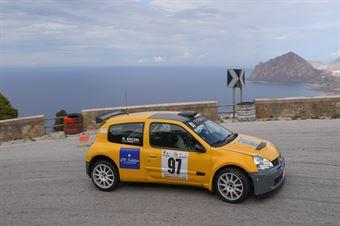 Riccardo Arceri ( Top Rally, Renault Clio #97), CAMPIONATO ITALIANO VELOCITÀ MONTAGNA