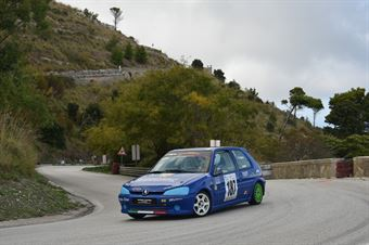 Andrea Alogna ( Peugeot 106 #187), CAMPIONATO ITALIANO VELOCITÀ MONTAGNA