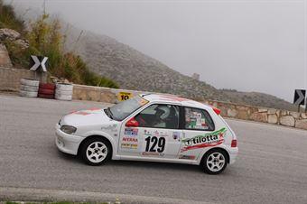 Rosario Trippiedi ( Trapani Corse , Peugeot 106 #129), CAMPIONATO ITALIANO VELOCITÀ MONTAGNA
