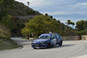 Davide Ignaccolo ( Catania Corse, Peugeot 106 #132), CAMPIONATO ITALIANO VELOCITÀ MONTAGNA
