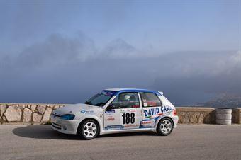 Mattia Staino Baldino ( Kronoracing , Peugeot 106 #188), CAMPIONATO ITALIANO VELOCITÀ MONTAGNA
