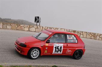 Salvatore D'Avola ( Catania Corse , Peugeot 106 #154), CAMPIONATO ITALIANO VELOCITÀ MONTAGNA