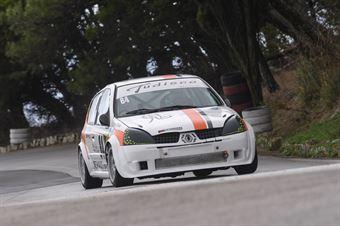 Alfio Tudisco ( Catania Corse , Renault Clio #84), CAMPIONATO ITALIANO VELOCITÀ MONTAGNA