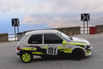 Giulia Gallinella ( Orvieto Corse , Peugeot 106 #191), CAMPIONATO ITALIANO VELOCITÀ MONTAGNA