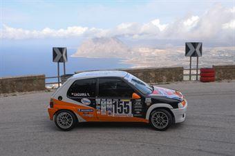 Filippo Lacanna ( New Generation Racing , Peugeot 106 #155), CAMPIONATO ITALIANO VELOCITÀ MONTAGNA