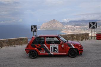 Sgarlata Vincenzo ( Renault 5 GTT #105 ), CAMPIONATO ITALIANO VELOCITÀ MONTAGNA