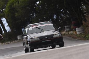 Fabrizio Ferrauto ( Ro Racing , Peugeot 106 #192), CAMPIONATO ITALIANO VELOCITÀ MONTAGNA