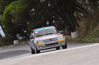 Adragna Francesco ( Sport e Comunicazione , Peugeot 205 #103), CAMPIONATO ITALIANO VELOCITÀ MONTAGNA