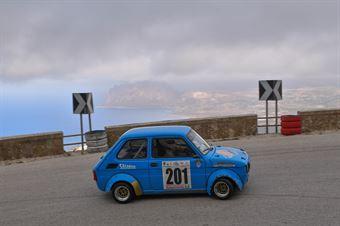 Antonino Materia ( Catania Corse , Fiat 126 #201), CAMPIONATO ITALIANO VELOCITÀ MONTAGNA