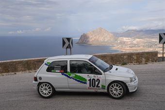 Onofrio Amato ( Vimotorsport , Renault Clio W #102), CAMPIONATO ITALIANO VELOCITÀ MONTAGNA